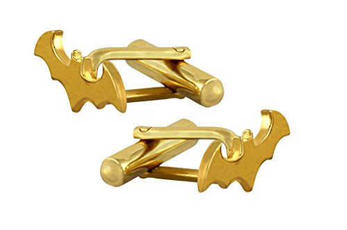 Fadkart Designer Batman Cufflink Casual Formal Occasions Cuff Links for Men & Boys (Designer Gold Cufflinks)