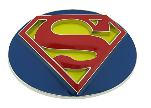 Classic Superman Logo Belt Buckle (Brand New)