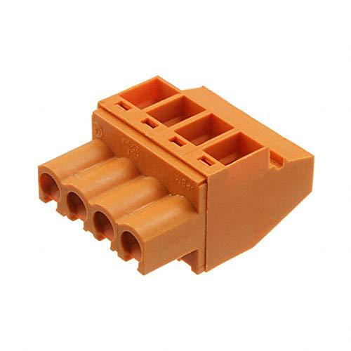 TERM BLOCK PLUG 4POS 5.08MM (Pack of 10)
