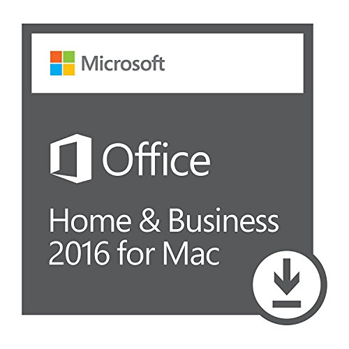 Microsoft Office Home and Business 2016 for Mac Product Key Card (1...