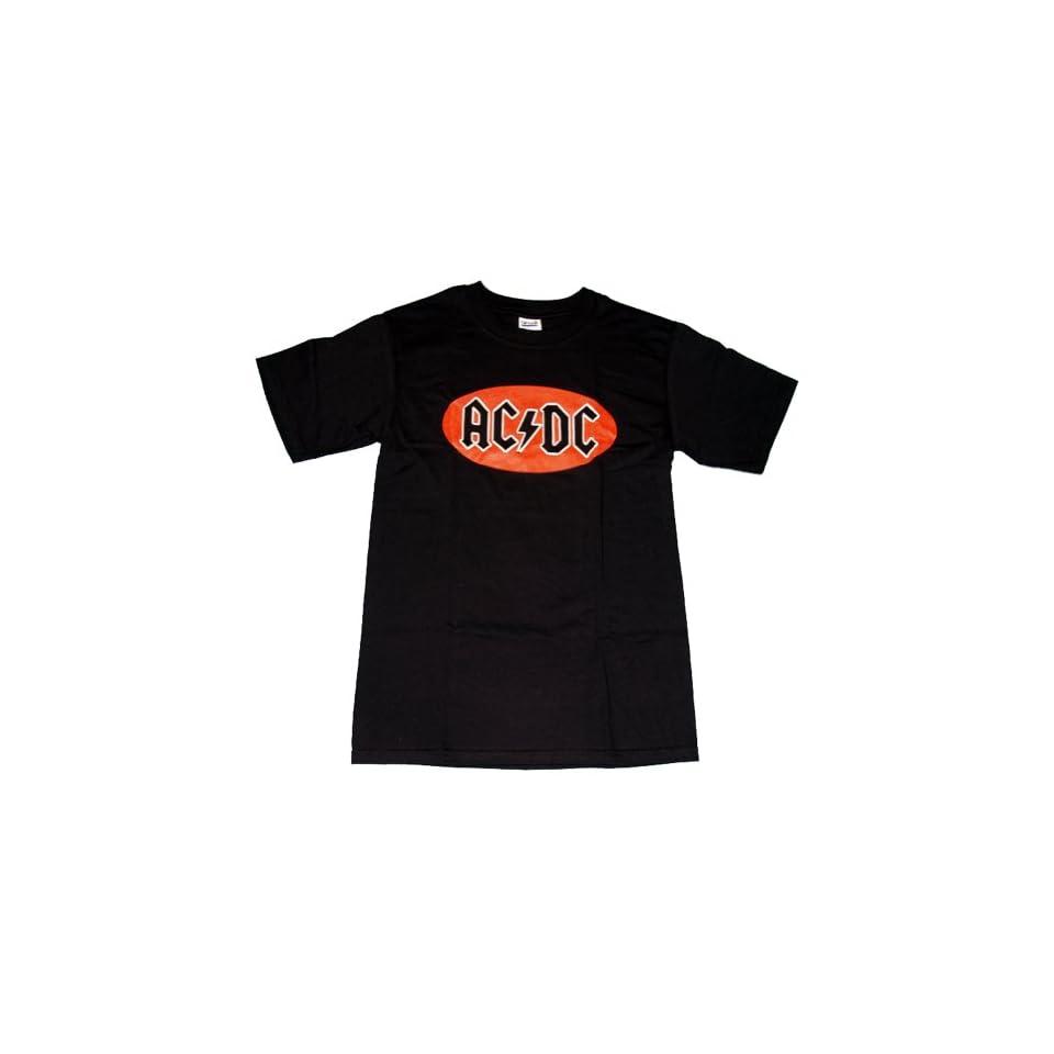 ACDC Logo Rock Band T Shirt Tee