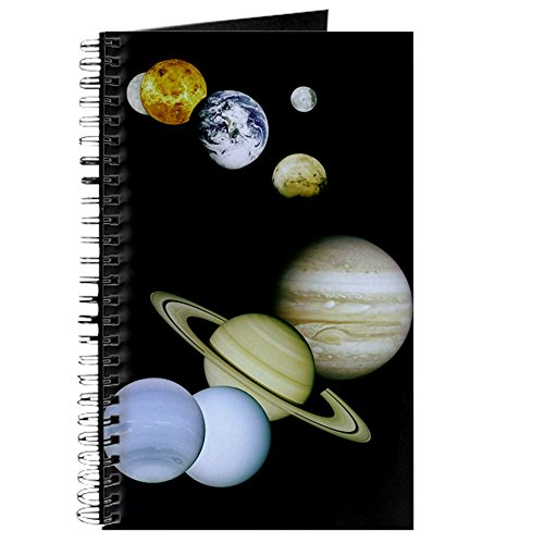 Solar System Notepad - CafePress - Our Solar System - Spiral Bound Journal Notebook, Personal Diary, Blank