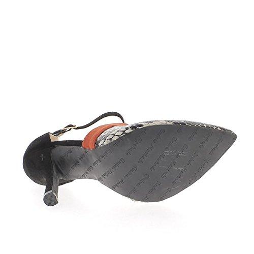 Noirs 12cm Escarpins Taille Talons Pointus À Grande Ouverts De UWFcFH6vS