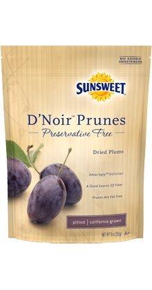 Sunsweet D'Noir Prunes Pack of 2 by Sunsweet