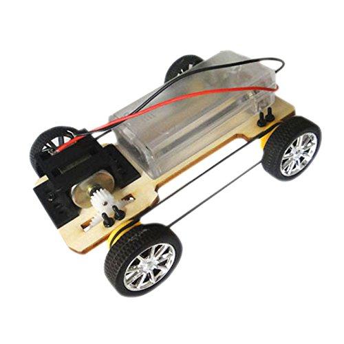 FEICHAO Bausatz Handgemachte Buggys Technologie Zusammengebautes Spielzeug Anzug 12 * 4 * 9 cm 4WD Intelligenter Roboter Autotank Chassis RC Spielzeug Z17912