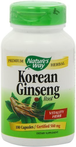 NATURE'S WAY GINSENG,KOREAN, 100 ()