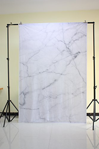 Muzi photography backdrops natural white marble texture backdrop photo background newborn photoshooting studio props 5x7ft XT-5610 from Muzi