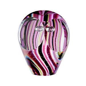 Caithness Glass Sarah P Art Glass Ringo Twit Twoo Briefbeschwerer aus Kristall, transparent   bunt B004F1XBMY | Reparieren