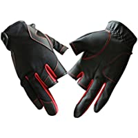 Fishing Gloves 3 Low-Cut Fingers Skidproof UV Sun Protection, Driving, Glofing, Sailing, Kayaking, Riding Gloves