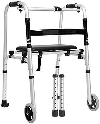 Andadores Ancianos ROMX-Older Walker Altura Ajustable Plegable ...