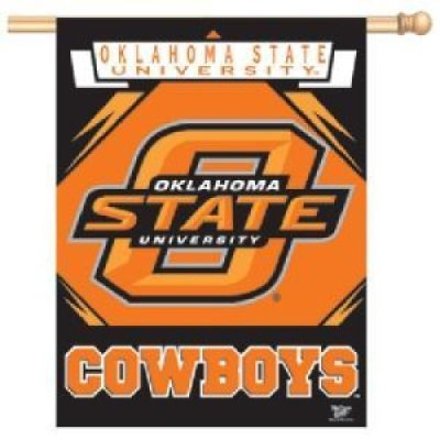 "Oklahoma State Cowboys Banner/vertical Flag 27"" X 37"""