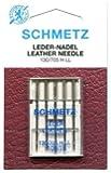 Schmetz Leather Needle Range (Packs of 5) - Various Sizes (100/16) by Schmetz