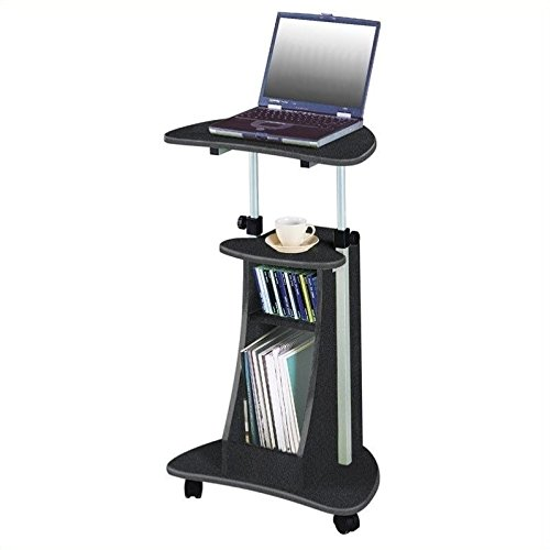 Scranton & Co Mobile Laptop Stand in Graphite by Scranton & Co