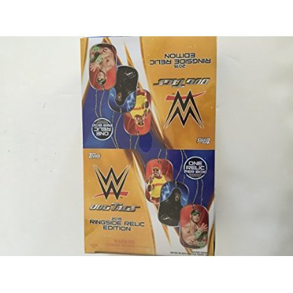 WWE Wrestling 2015 Ringside Relic Edition 2015 Ringside Relics Dog Tags Box [ parallel import goods ]