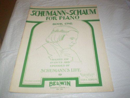 SCHUMMAN - SCHAUM FOR PIANO BOOK 1 1947 SONGBOOK E14