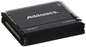 Addonics CFast Card Reader/Writer - USB 2.0/eSATA, Black (ADESPCFT)