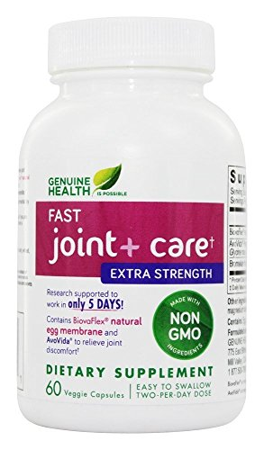 Strength Joint Care - Genuine Health - Fast Joint+ Care Extra Strength - 60 Capsules
