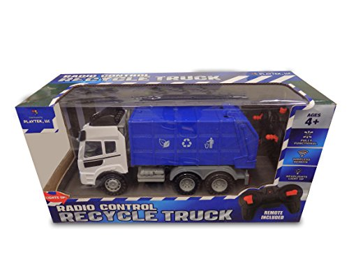 Playtek 1: 15 4 Ch R/C Recycle Truck Remote Control (Remote Control Recycle Truck)