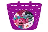 Trolls Girls Bike Basket – Pink, One Size