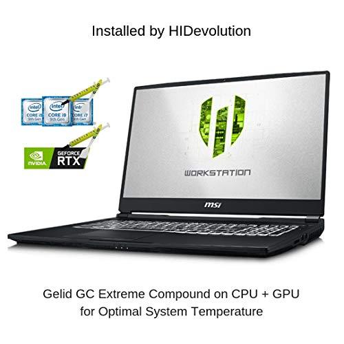 "HIDevolution MSI WE75 9TK-875 17.3"" FHD 60Hz IPS-Level | 2.7 GHz E-2176M, RTX 3000, 64GB 2400MHz RAM, 512GB PCIe SSD | Authorized Performance Upgrades & 3-Year Warranty"