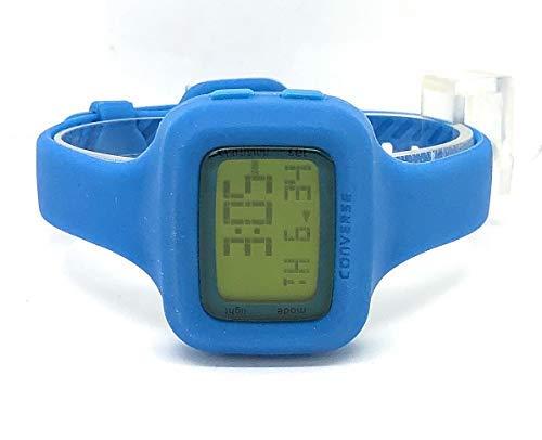Converse Understatement - Reloj digital de mujer de cuarzo con correa de silicona azul (alarma, cronómetro) - sumergible a 30 metros: Amazon.es: Relojes