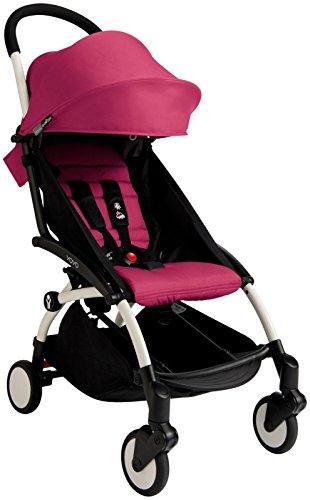 Babyzen YOYO+ Stroller - White/Pink by Baby Zen