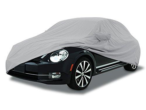 CarsCover Custom Fit 1998-2010 Volkswagen New Beetle Car Cover for 5 Layer Ultrashield Waterproof VW Beetle (Volkswagen Cars)