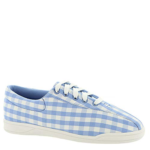 Easy Spirit AP2 Women's Oxford 11 B(M) US Blue-Gingham