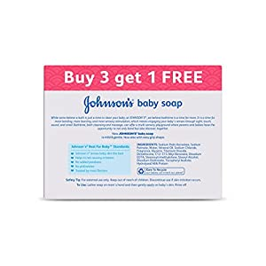 Johnson's Baby Soap 150g (Buy 3 Get 1 Free)