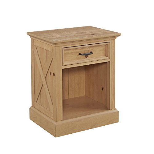 Home Styles 5524-42 Country Lodge Night Stand, Queen, (Country Style Bedroom Furniture)