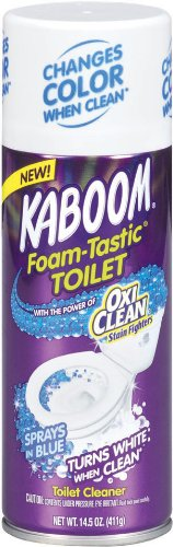 Amazon.com: Kaboom Foam Tastic With Oxiclean Toilet, 14.5 Ounce (Pack Of  8): Health U0026 Personal Care
