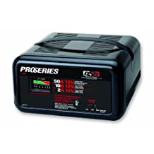 Schumacher PS-1025 DSR ProSeries 2/10/50 Amp 12 Volt Manual Bench Battery Charger with Engine Start