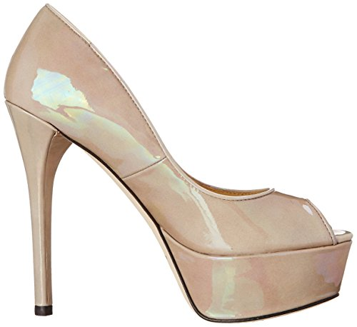 B Brian Atwood Dames Bambola Grijs Patent