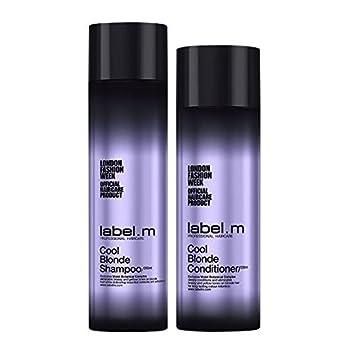 Kuvahaun tulos haulle label.m cool blonde shampoo