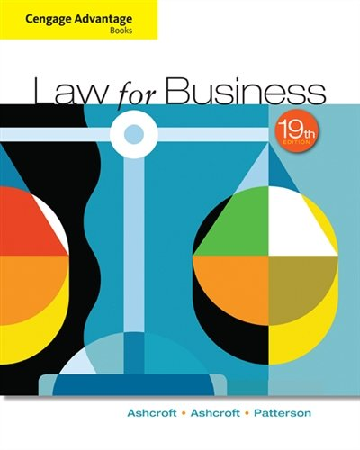 Cengage Advantage Books: Law for Business (MindTap Course List)