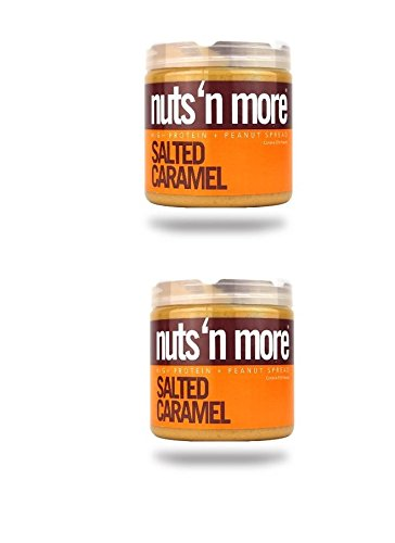 Nuts N More Peanut Butter 2 Pack Assorted Flavors (Salted Caramel x2)
