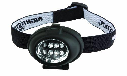 Bayco NSP-2208 Night Stick 8 LED Headlamp, Black -