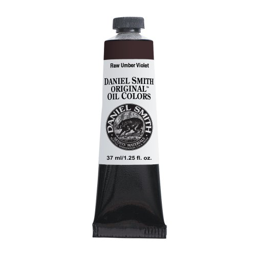 DANIEL SMITH A6329-0150-A072Daniel Smith Original Oil Color 37ml Paint Tube, Raw Umber Violet
