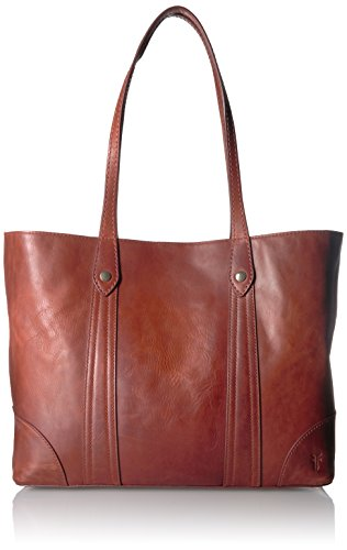 FRYE Melissa Shopper Tote Leather Handbag, Red Clay ()