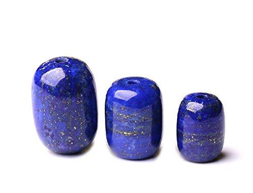 Barrel Lapis - Natural Lapis Lazuli Beads, Barrel Shape for Jewelry Making (GL42) (13mm*10mm)