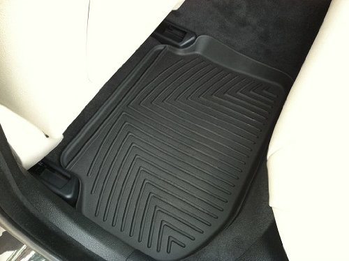 BMW All-weather REAR Floor Liners, black