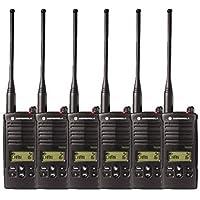 6 Pack of Motorola RDU4160d Two Way Radio Walkie Talkies
