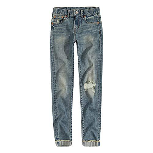 Levi's Girls' Big Girlfriend Fit Jeans, Como, 14