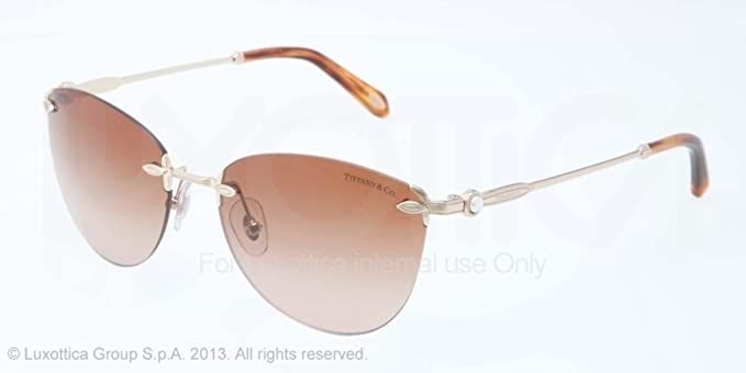 Gafas de Sol Tiffany & Co. TF3042H PALE GOLD: Amazon.es ...