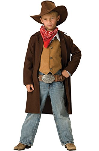 [Western Cowboy Rawhide Renegade Child Costume] (Giant Bra Costume)