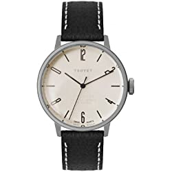 Tsovet Men's Stainless Steel 38MM Watch, Stainless/Champagne, One Size