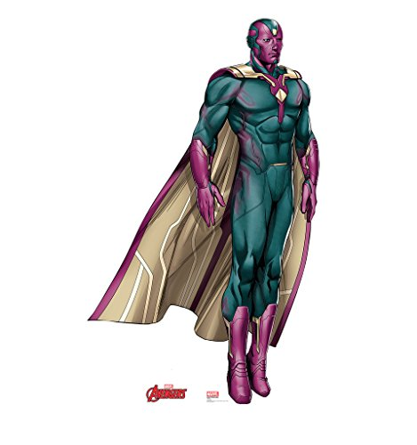 Vision - Marvel's Avengers Animated - Advanced Graphics Life Size Cardboard Standup