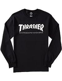 Skate Mag Long Sleeve T-Shirt - Black