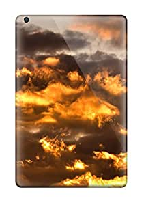 Tara Mooney Popovich's Shop 8233095I10789819 For Ipad Mini Protector Case Flaming Smoke Clouds Phone Cover