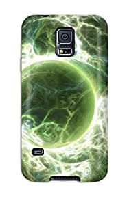 High-end Case Cover Protector For Galaxy S5(planet)